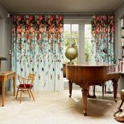 Оригинальные цветные шторы