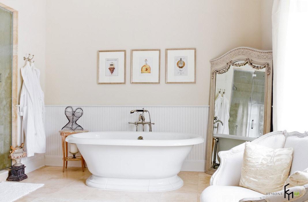 Картины в ванной комнате