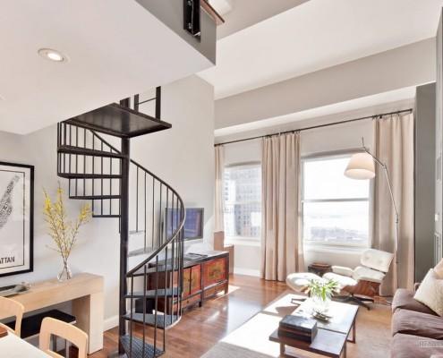 Лестница в стиле модерна
