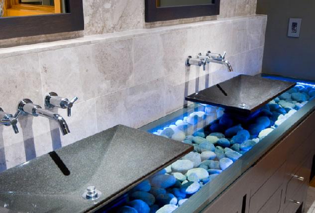 Необычные ванные комнаты фото