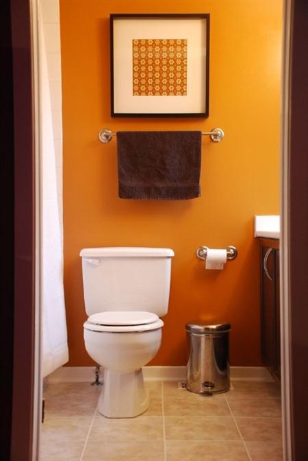 Покраска стен ванная