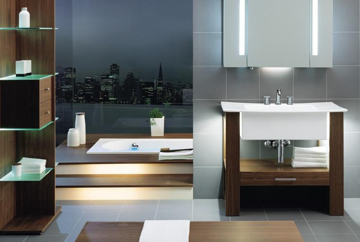 Необычные дизайны ванных комнат