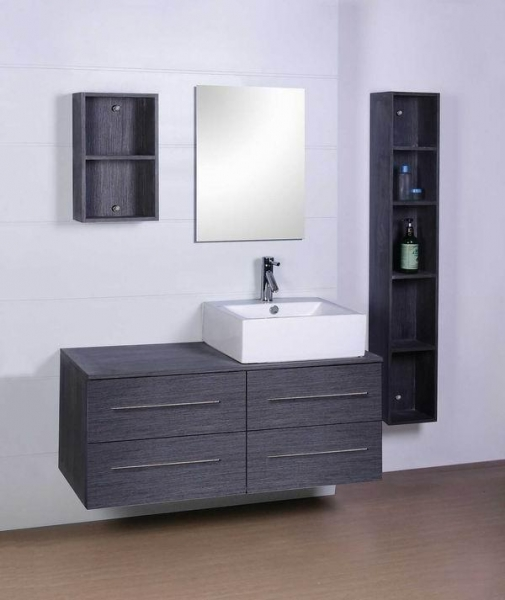 Необычный интерьер ванной комнаты