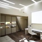 Двухъярусная квартира дизайн интерьера