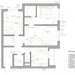 План перепланировки квартиры 80 кв.м
