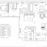 План перепланировки мужской квартиры