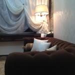 Мягкий уголок в однокомнатной квартире
