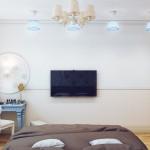 Дизайн спальни 80 кв.м.