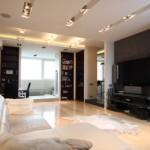 Однокомнатная квартира гостиная дизайн