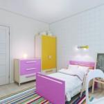Интересный дизайн детской в квартире 80 кв.м.
