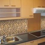 Декоративная плитка на кухне