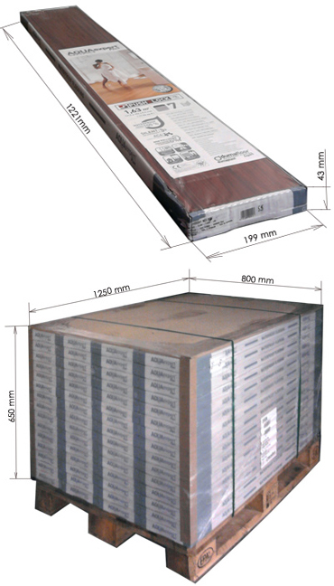 Упаковка ламината: какой имеет размер, вес и обозначения на упаковке