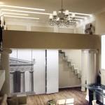 Двухъярусная квартира дизайн
