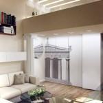 Дизайн двухъярусной квартиры фото