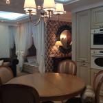 Кухня/столовая в однокомнатной квартире