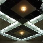 Модульный потолок в зале