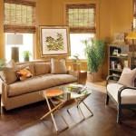Тропический стиль комната для гостей