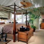 Тропический стиль кровать