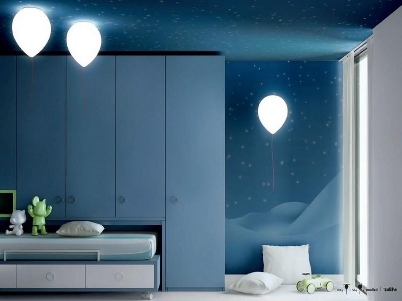 Какое освещение нужно в детской комнате
