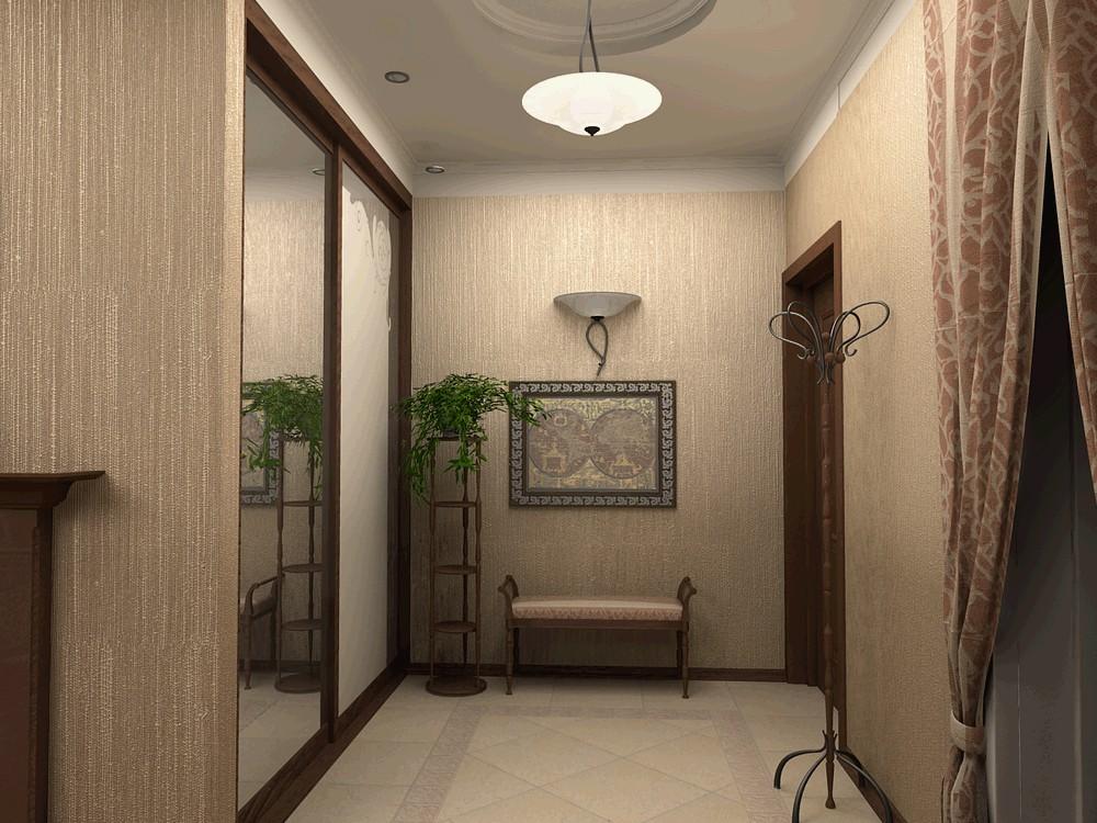 Освещение в коридоре фото