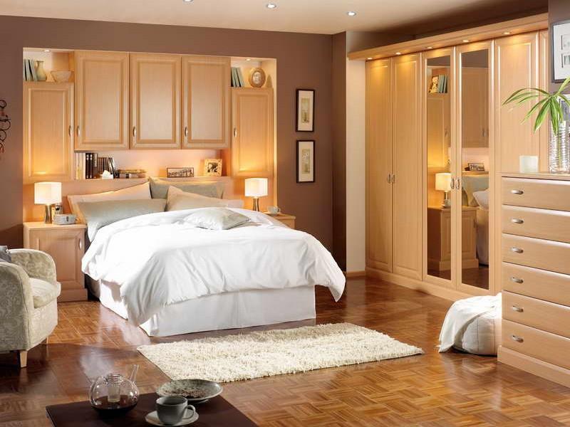 Варианты освещения в спальной комнате
