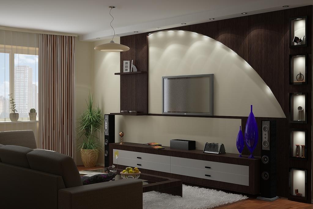 Гипсокартонные конструкции с подсветкой