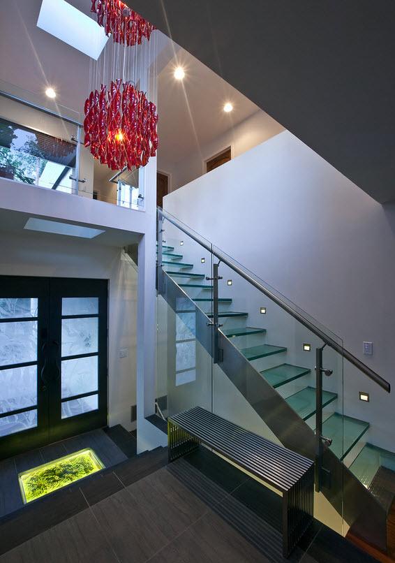Фото лестниц из стекла