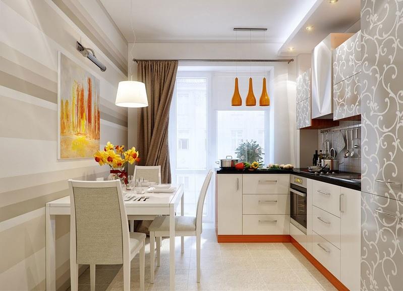 Освещение столовой/ кухни