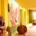 Тропический стиль мебель фото