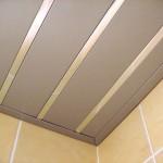 Реечный потолок матовый