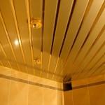 Реечный потолок глянцевый