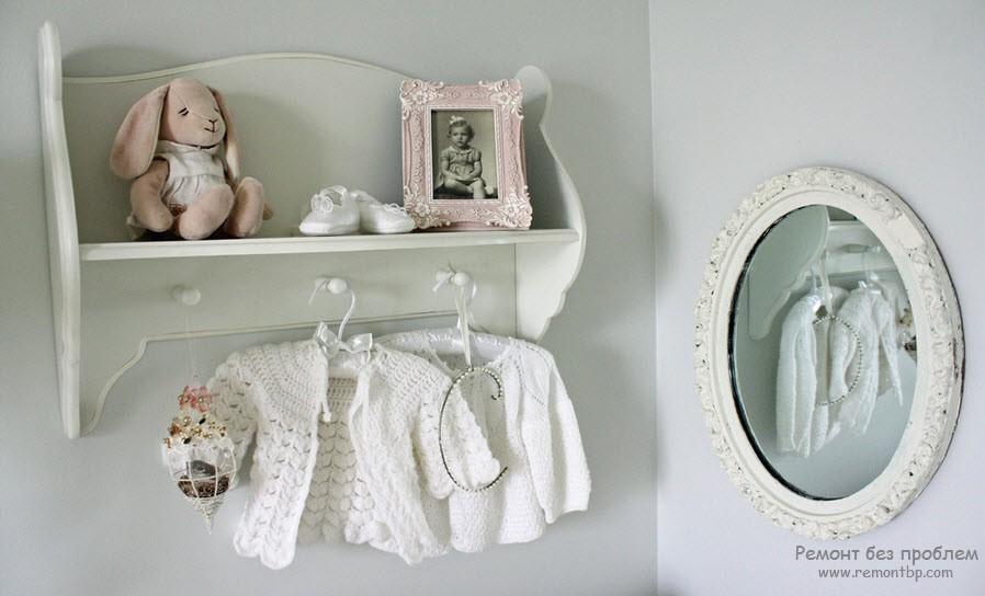 Необычное зеркало в детской