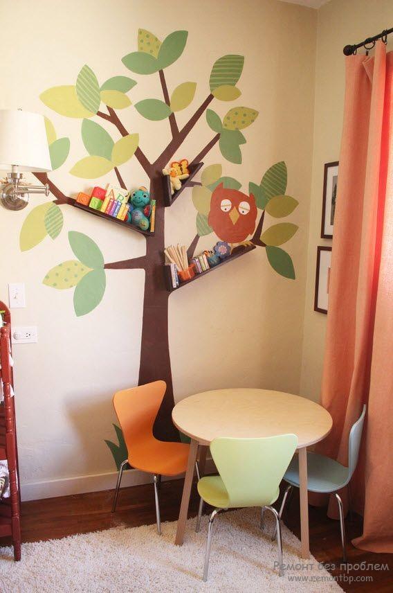 Стол и стул в детской