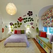 Украшение стен в детской комнате