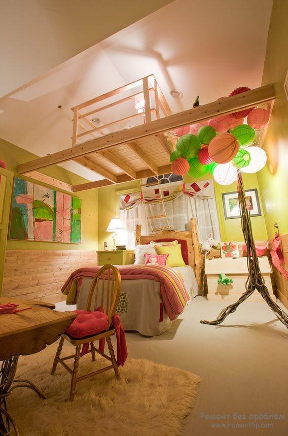 Дизайн детской комнаты на фото