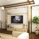 Дизайн гостиной в японском стиле фото