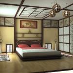 Японская комната интерьер