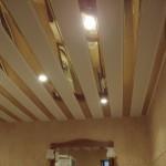 Реечный потолок для дома