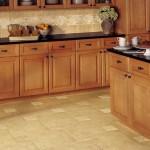 Отделка пола на кухне плитка