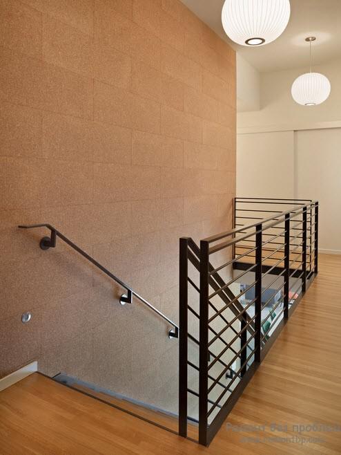 Пробковое покрытие отделка стен
