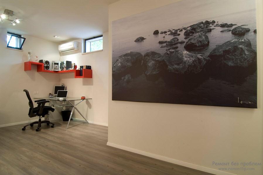 Дизайн квартиры с картиной