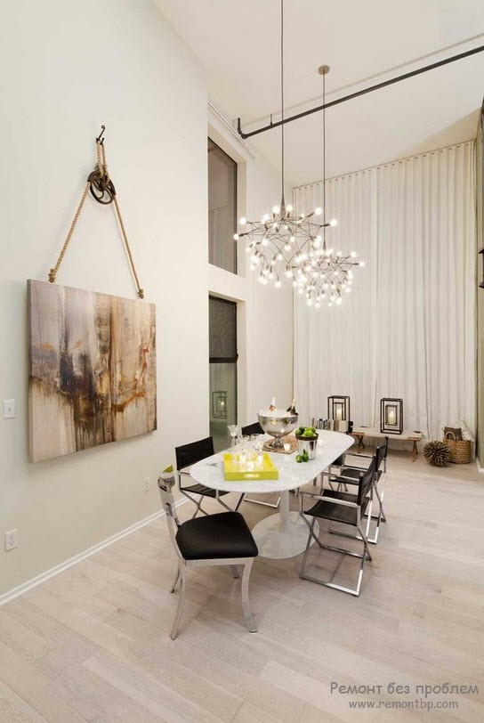 Дизайн комнаты с картиной