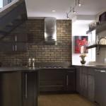 Клинкерная плитка в кухне