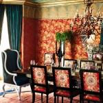 Комната для гостей с орнаментом