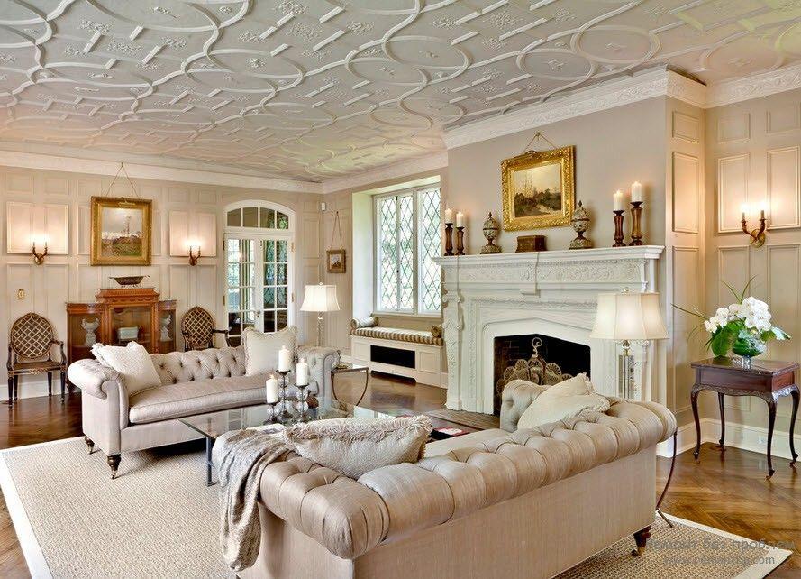 Большой белый диван фото
