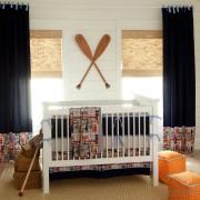 Детская комната мальчика шторы