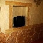 декоративная штукатурка графито в интерьере