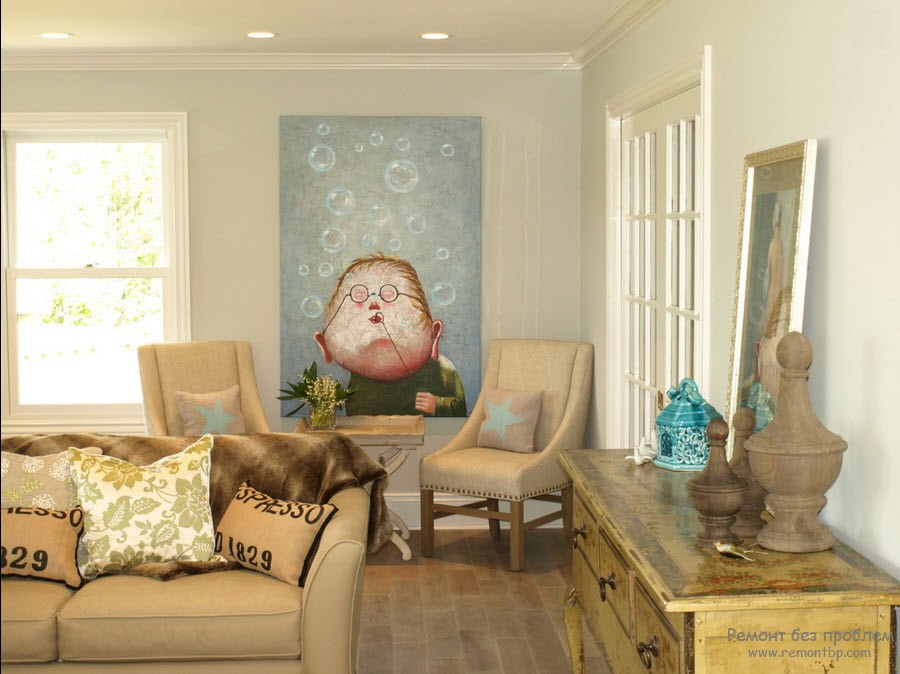 Необычная картина в доме