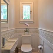 20 идей оформления и отделки для маленького санузла (туалета)