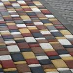 Декоративная тротуарная плитка фото